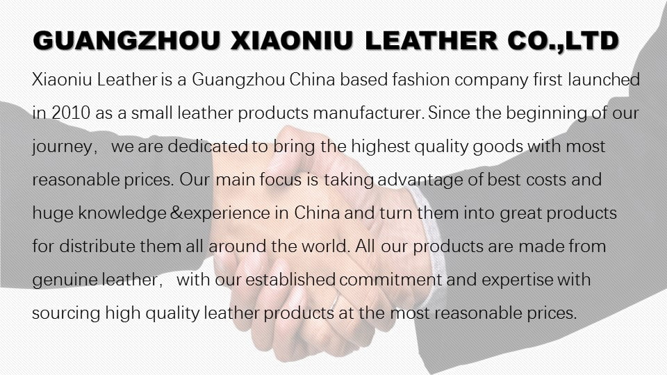 Guangzhou Xiaoniu Leather Co.,Ltd