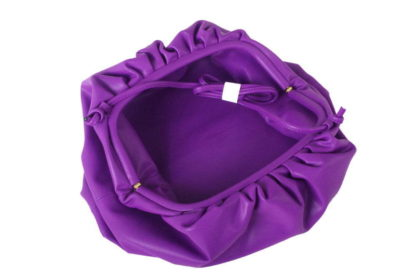Ruched Clutch Sling Bag Purple