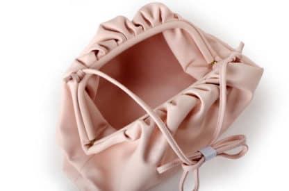 slouchy pillow clutch bag